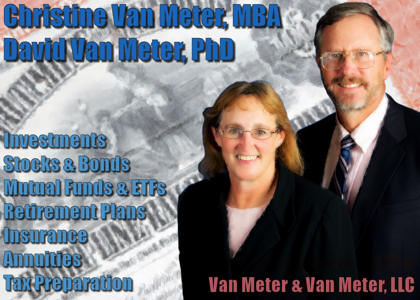 Christine and David Van Meter - For All Your Investment and Tax Preparation Needs!